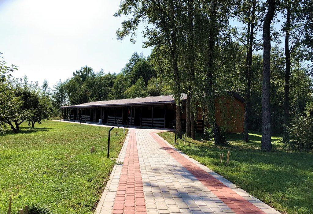 bungalow domki letniskowe augustów mazury lato jesien zima wiosna
