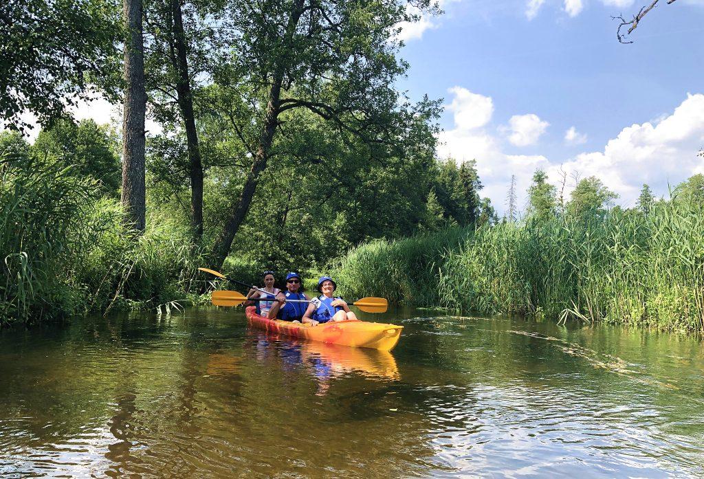 Czarna Hancza i Kanał Augustowski spływ kajakowy zorganizowany SZOT