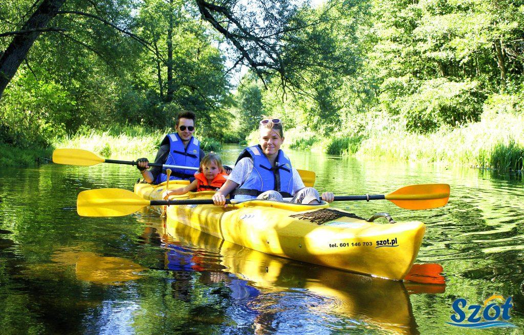 Spływ kajakowy Czarną Hańczą i Kanałem Augustowskim