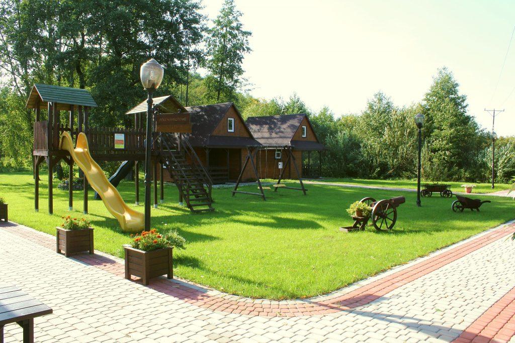 Villa Skomanda hotel w Augustowie noclegi SZOT