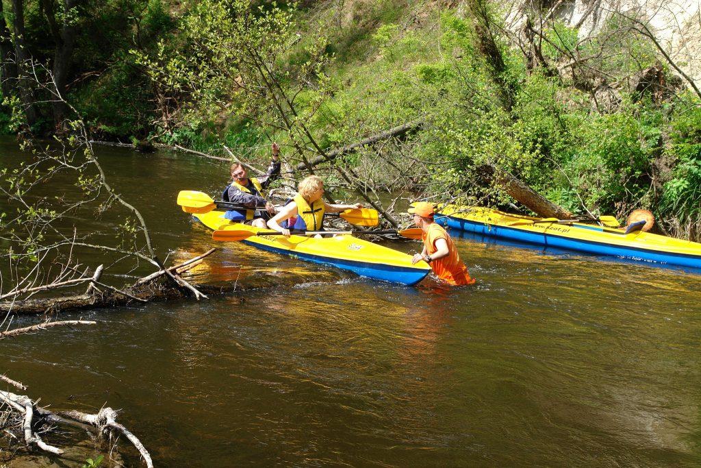 Spływ kajakowy 3 rzeki Pojezierza Augustowskiego SZOT