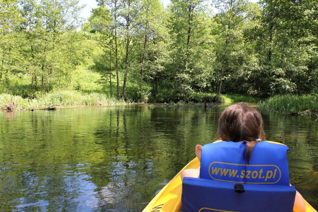 Spływ kajakowy 3 rzeki Pojezierza Augustowskiego SZOT Rospuda
