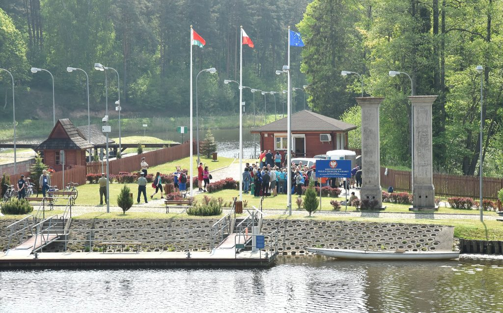Kajakiem przez 3 kraje spływ Polska Białoruś Litwa 6 dni SZOT