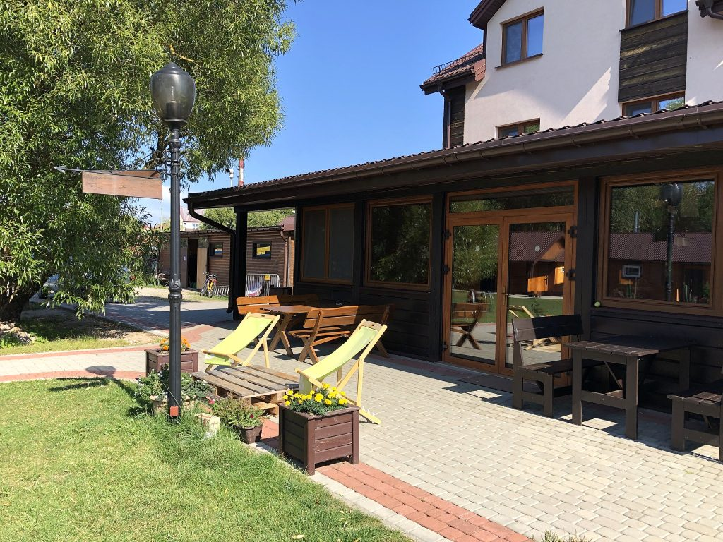 Spływ kajakowy opcja Komfort Villa Skomanda SZOT