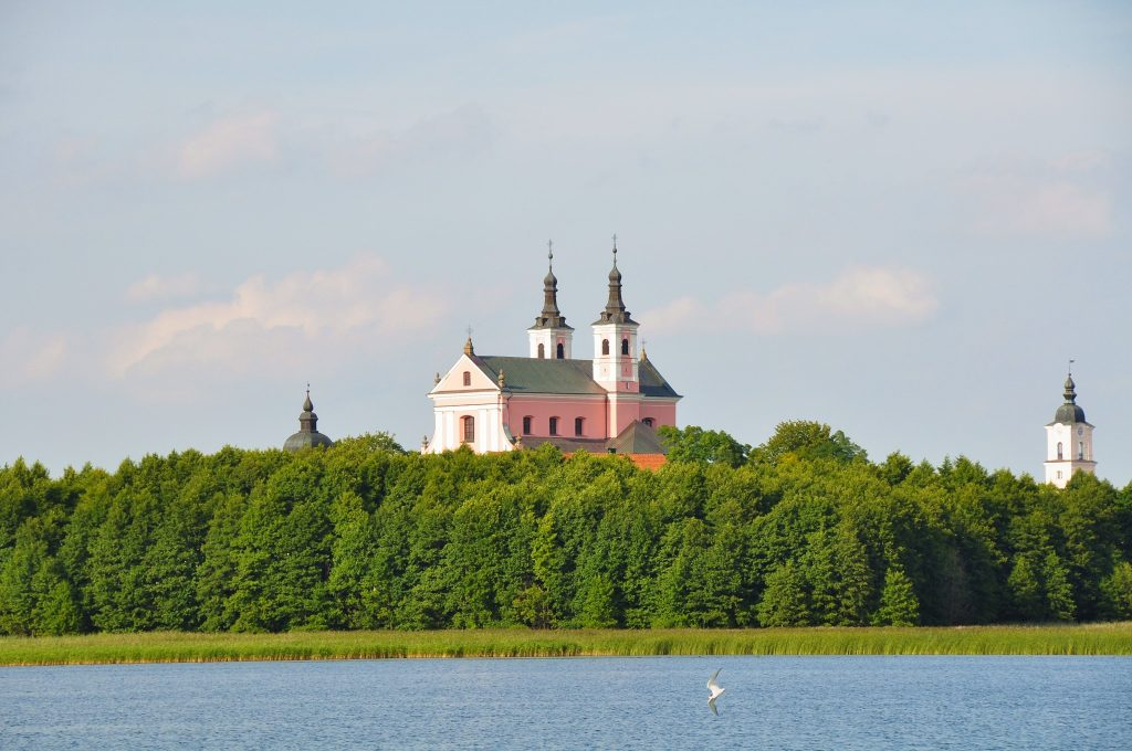 Wigry - Pokamedulski Klasztor, spływ kajakowy