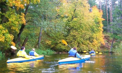 Jesienny spływ kajakowy