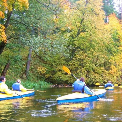 Autumn kayaking trip