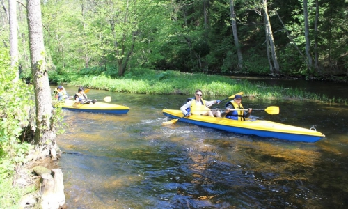 Active May weekend – 1-day kayaking trips