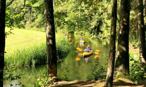 The BEST and the most beautiful kayaking routes of Augustów Lakeland – 6 days
