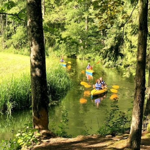 Najpiękniejsze szlaki kajakowe Pojezierza Augustowskiego – 6 dni