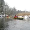 Weekendowy zimowy spływ kajakowy