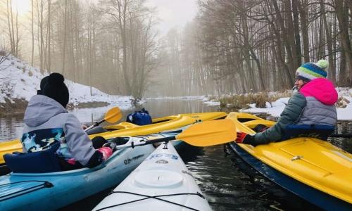 Zimowy spływ kajakowy – jednodniowy
