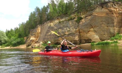 Spływ kajakowy Gauja – Łotwa – 8 dni