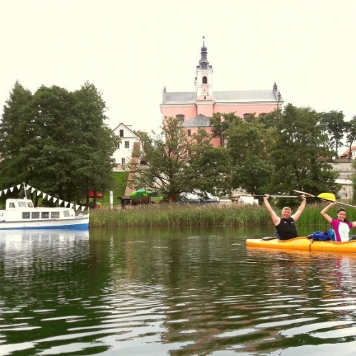 Wigry Lake and Czarna Hańcza River – 1-day kayaking trip + sightseeing